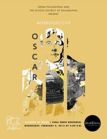 Oscar Student Guide Opera Philadelphia By Opera Philadelphia Issuu