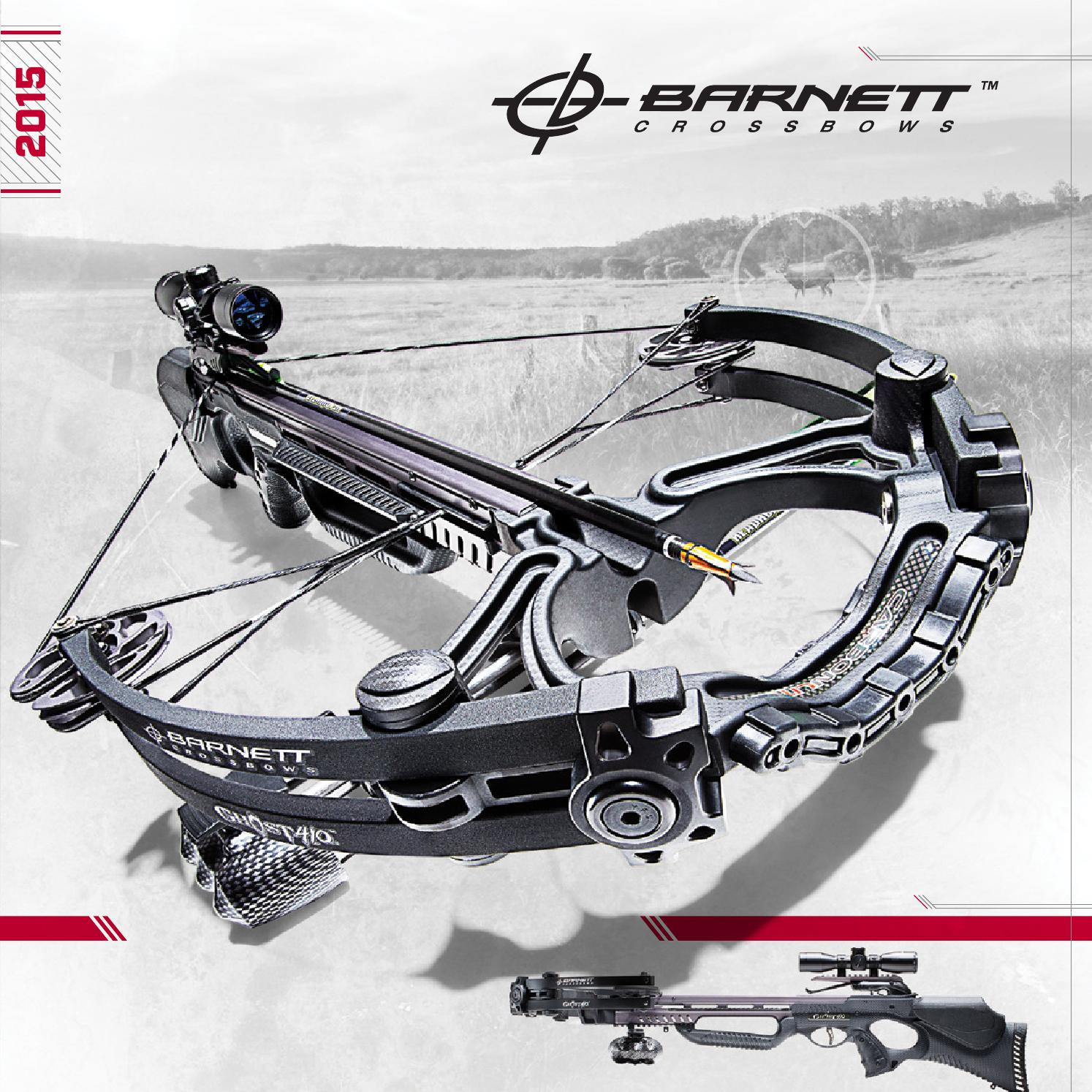 Barnett Crossbows - 2015 Product Guide by PlanoSynergy - issuu