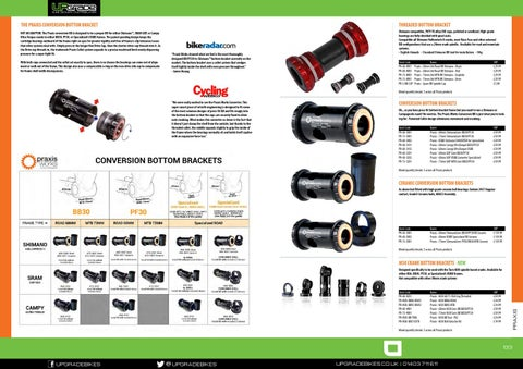 Praxis M30-BB86 BB Kit