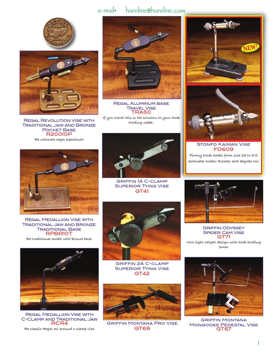 "Fishskull articulé Tige 35 mm 1 3//8/"" 20 Shanks-fly tying"