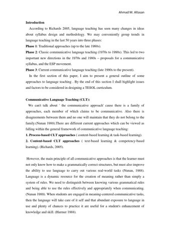 Curriculum Development By Ahmad Altasan Issuu