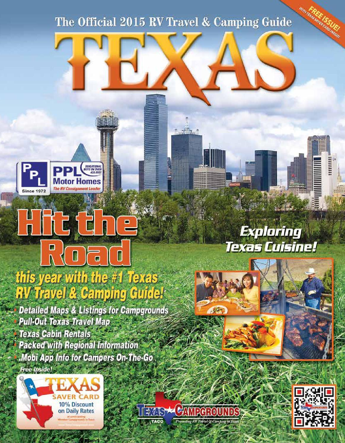 2015 Texas RV Travel Camping Guide By AGS Advertising