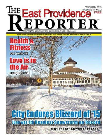 February 2015 East Providence Reporter by Dick Georgia - issuu