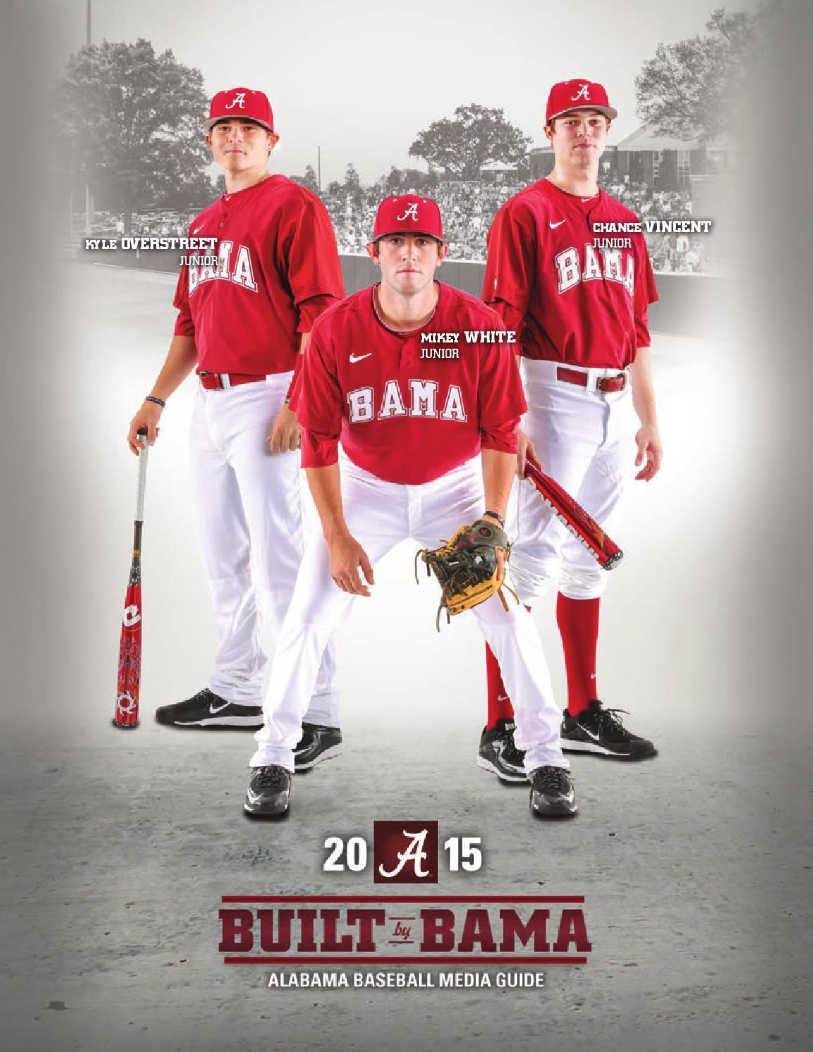 2015 Baseball Media Guide by Alabama Crimson Tide - issuu b6a375832