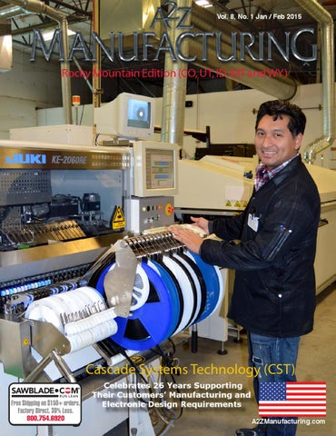 A2Z Manufacturing Rocky Mtn 2015 Jan-feb by A2Z