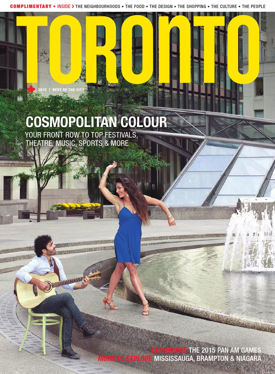 Toronto Magazine 2015 By Tourism Toronto