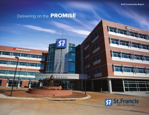 St  Francis Hospital 2013 Community Report by Image By