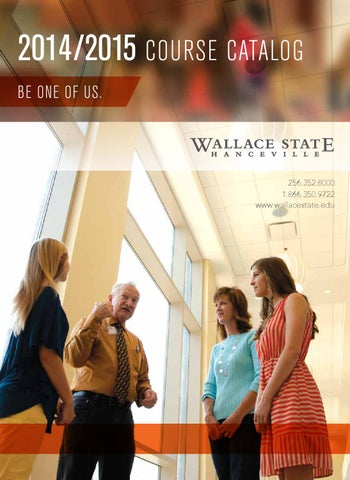2014 2015 college catalog by wallace state community college issuu off campus instructional sites wallace state center hayden high school hayden al fandeluxe Images