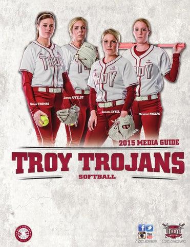 2015 troy softball media guide by troy university athletics issuu rh issuu com