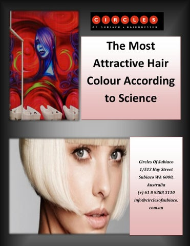 what hair colour is most attractive