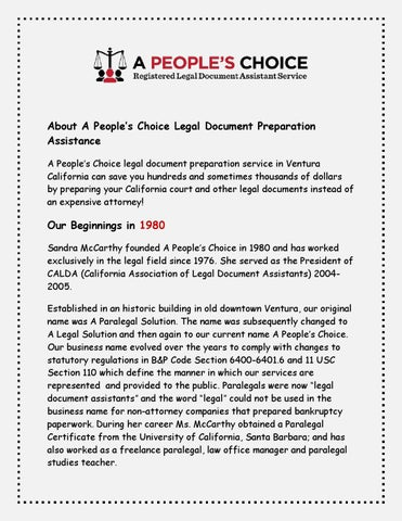 California Civil Litigation And Procedures By Apeopleschoice Issuu - Legal document preparation services