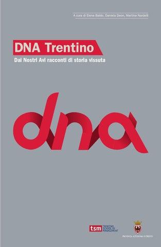 DNA Trentino. Dai Nostri Avi racconti di storia vissuta by DNA ... 4e3ddb2fb92