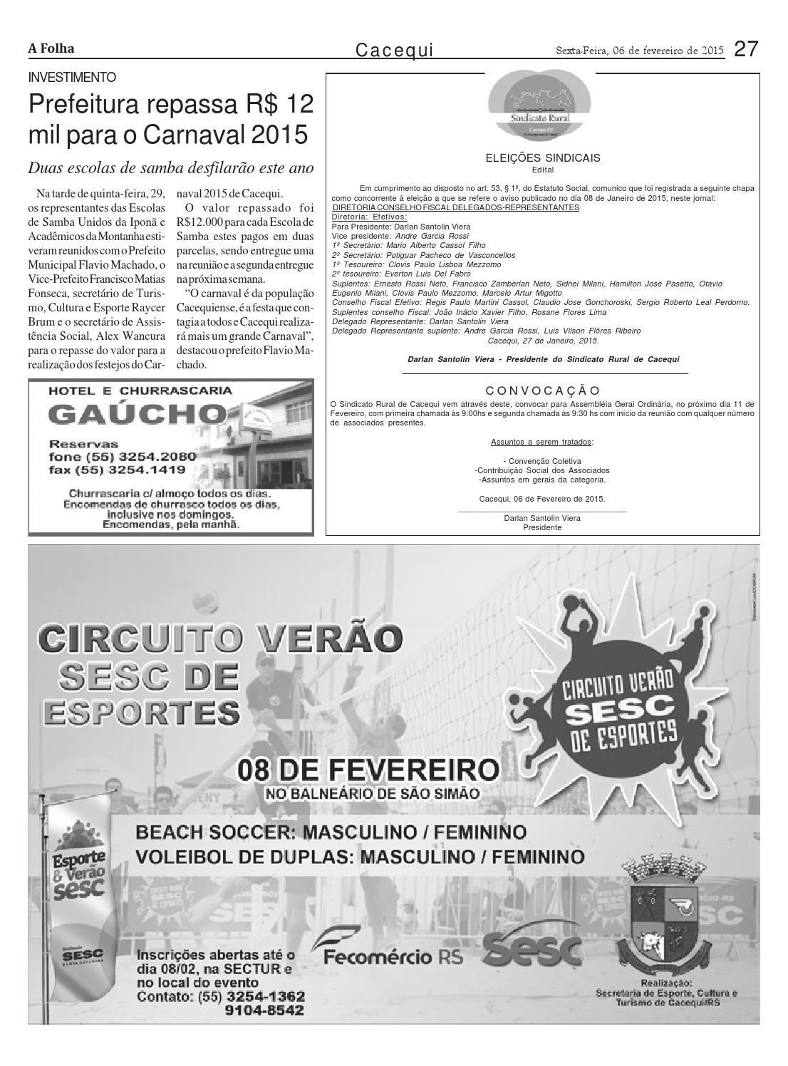 d7aa1fdd0 Edição 477 by Jornal A Folha - issuu