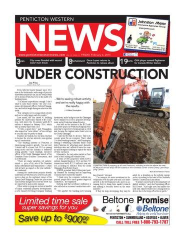 Penticton Western News, February 06, 2015 by Black Press