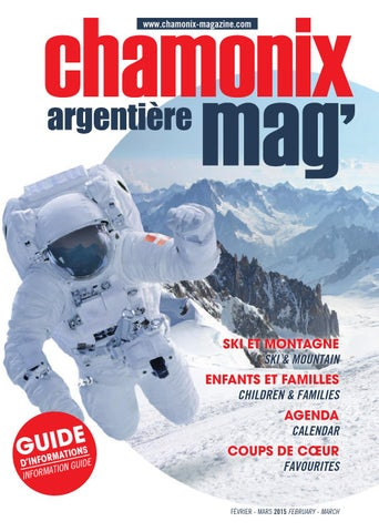 Chamonix magazine f vrier mars 2015 by dimontagne issuu for Meubles 3a sallanches