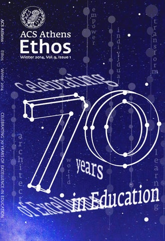 cfd5a25f9d32 ETHOS Winter 2014 by ACS Athens - issuu