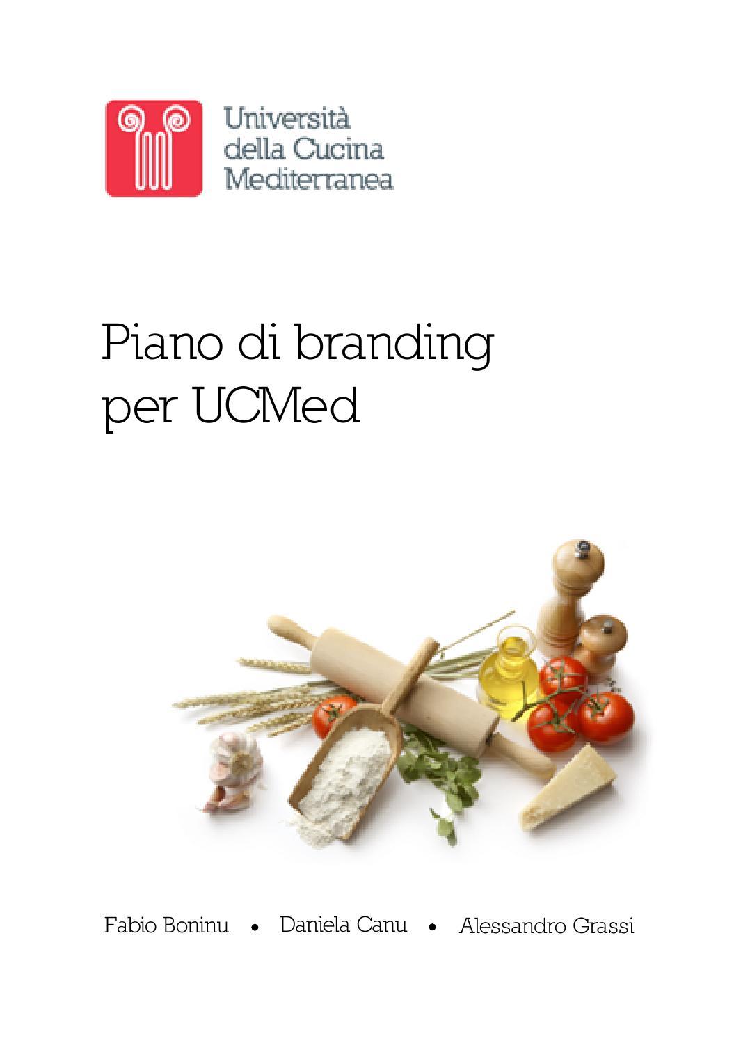 Piano strategico per UCMed – Università della Cucina Mediterranea by IED  Master Roma - issuu 7f84f585368e