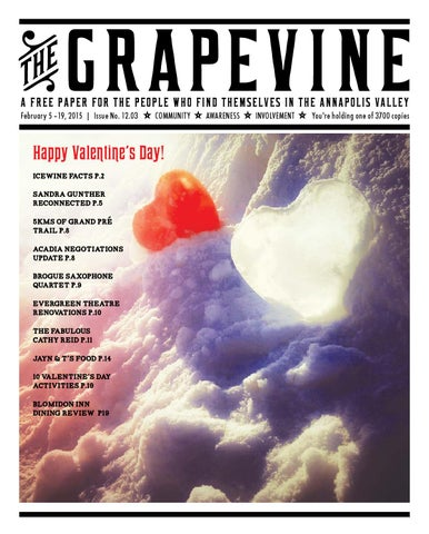 The Grapevine, February 5 – 19, 2015 by The Grapevine