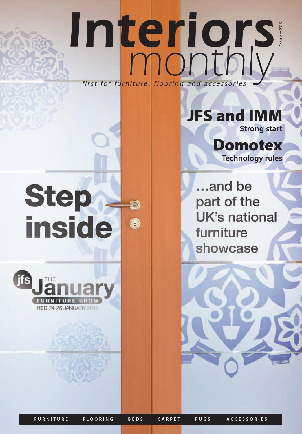 Interiors Monthly February 2015 By Interiors Monthly Issuu