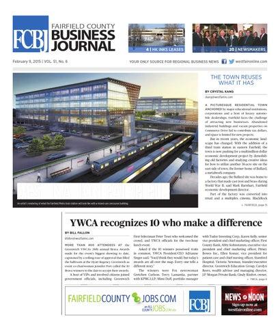 Fairfield County Business Journal 020915