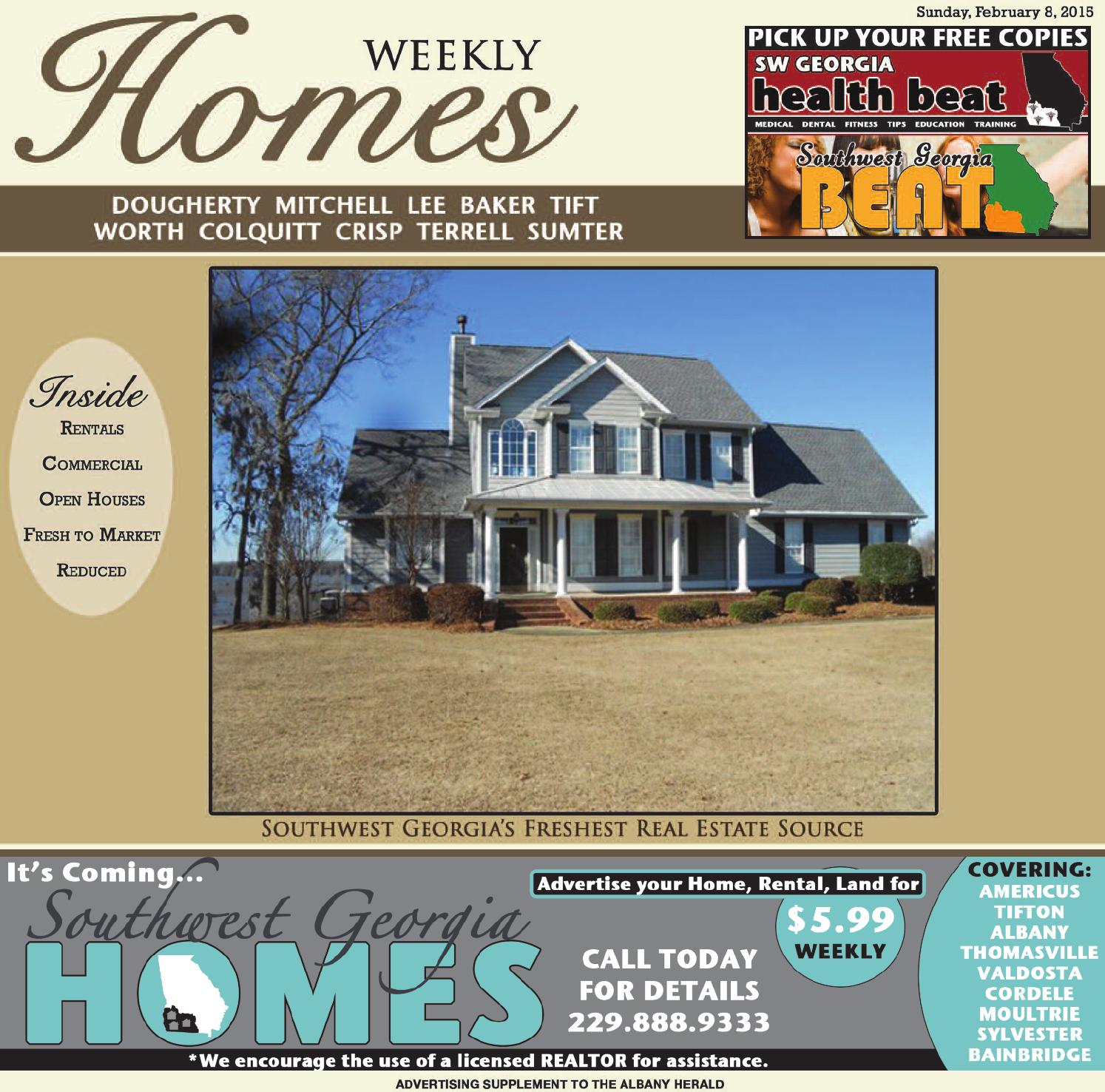 Homes 020815 by albany herald issuu