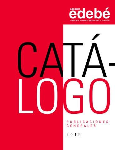 Catálogo de Publicaciones Generales edebé 2015 by edebé México - issuu 4ea782d9526
