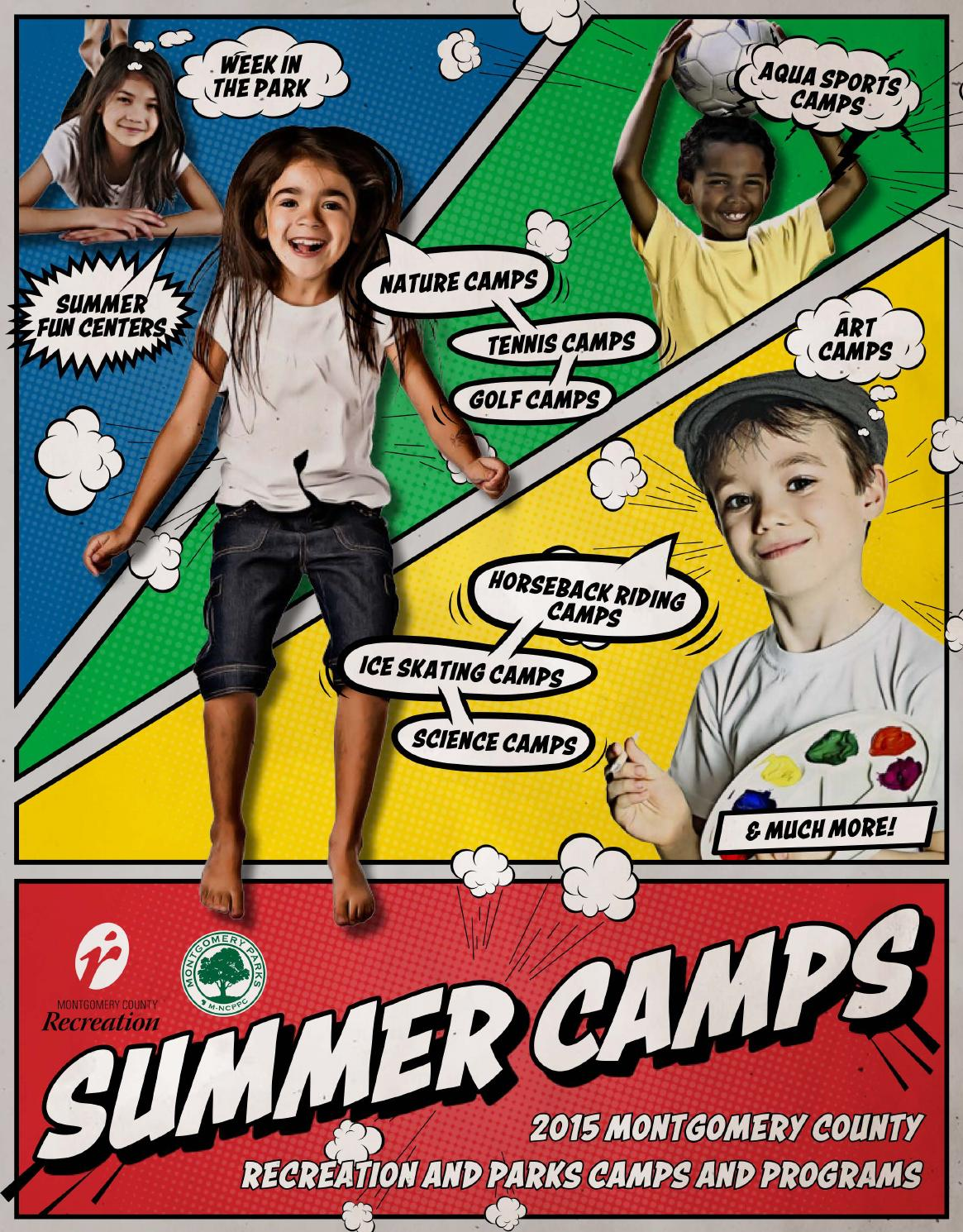 Montgomery County Summer Camps Guide By Montgomery County