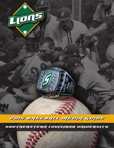 488fabd3820 2017 Southeastern Louisiana Baseball Media Guide by Southeastern Louisiana  University Athletics - issuu