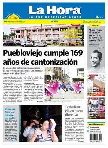 los r237os 7 de febrero 2015 by diario la hora ecuador issuu