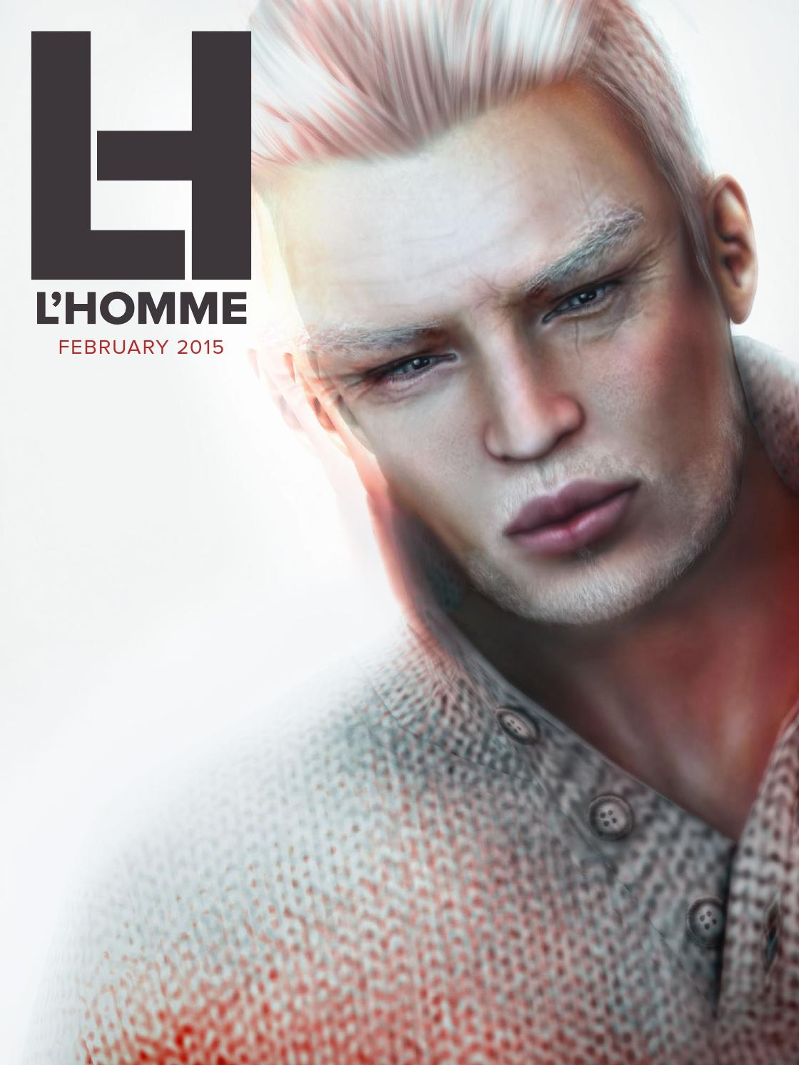 L'Homme Magazine SL Feb 2015