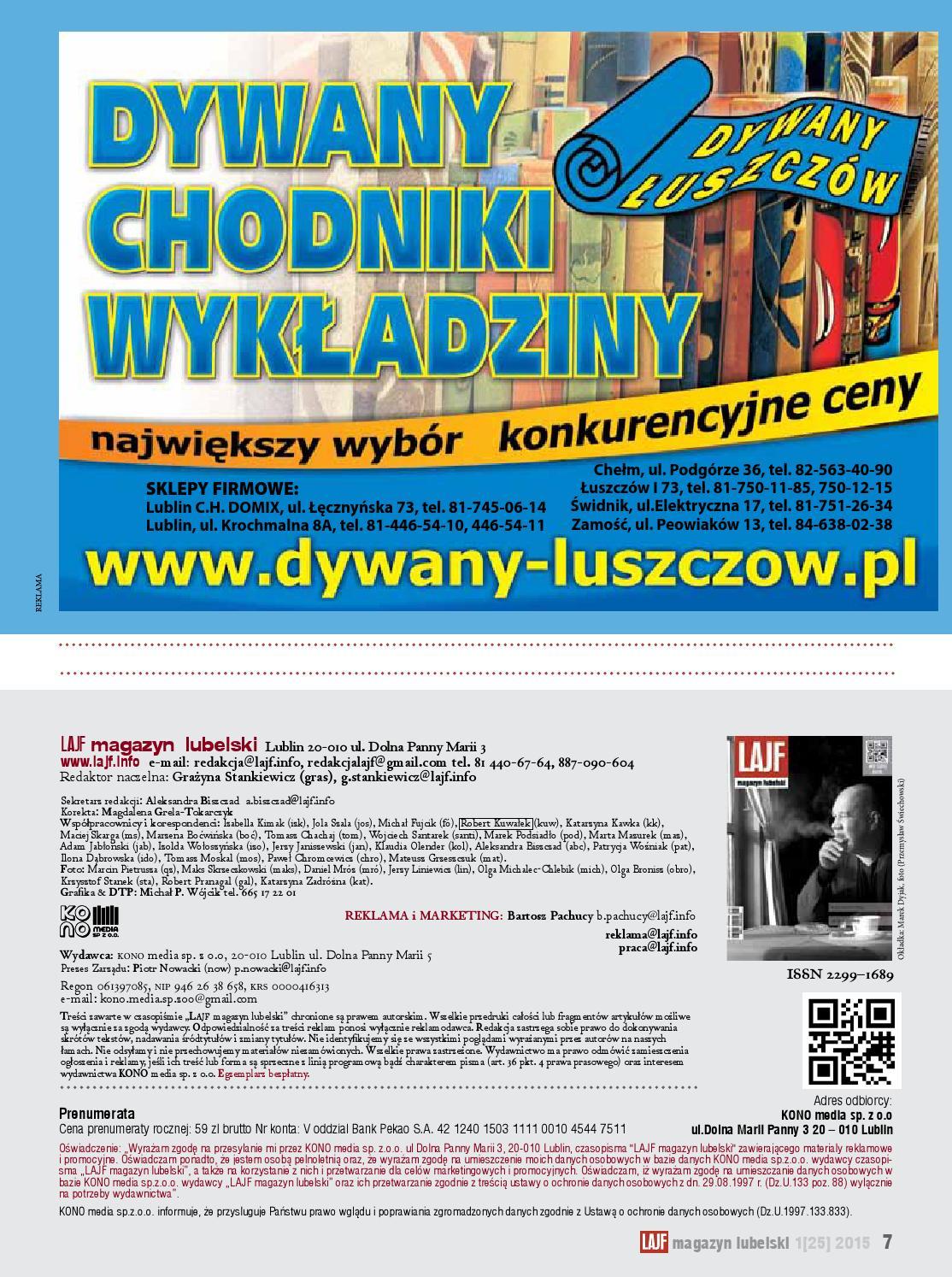 Lajf Magazyn Lubelski 25 By Lajf Magazyn Lubelski Issuu