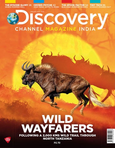Discovery channel magazine january 2015 in by Gladys - issuu