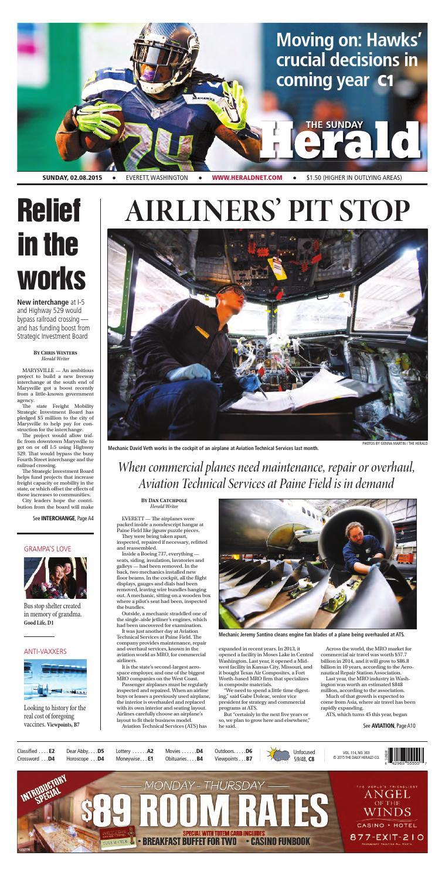 Everett Daily Herald, February 08, 2015 by Sound Publishing - issuu