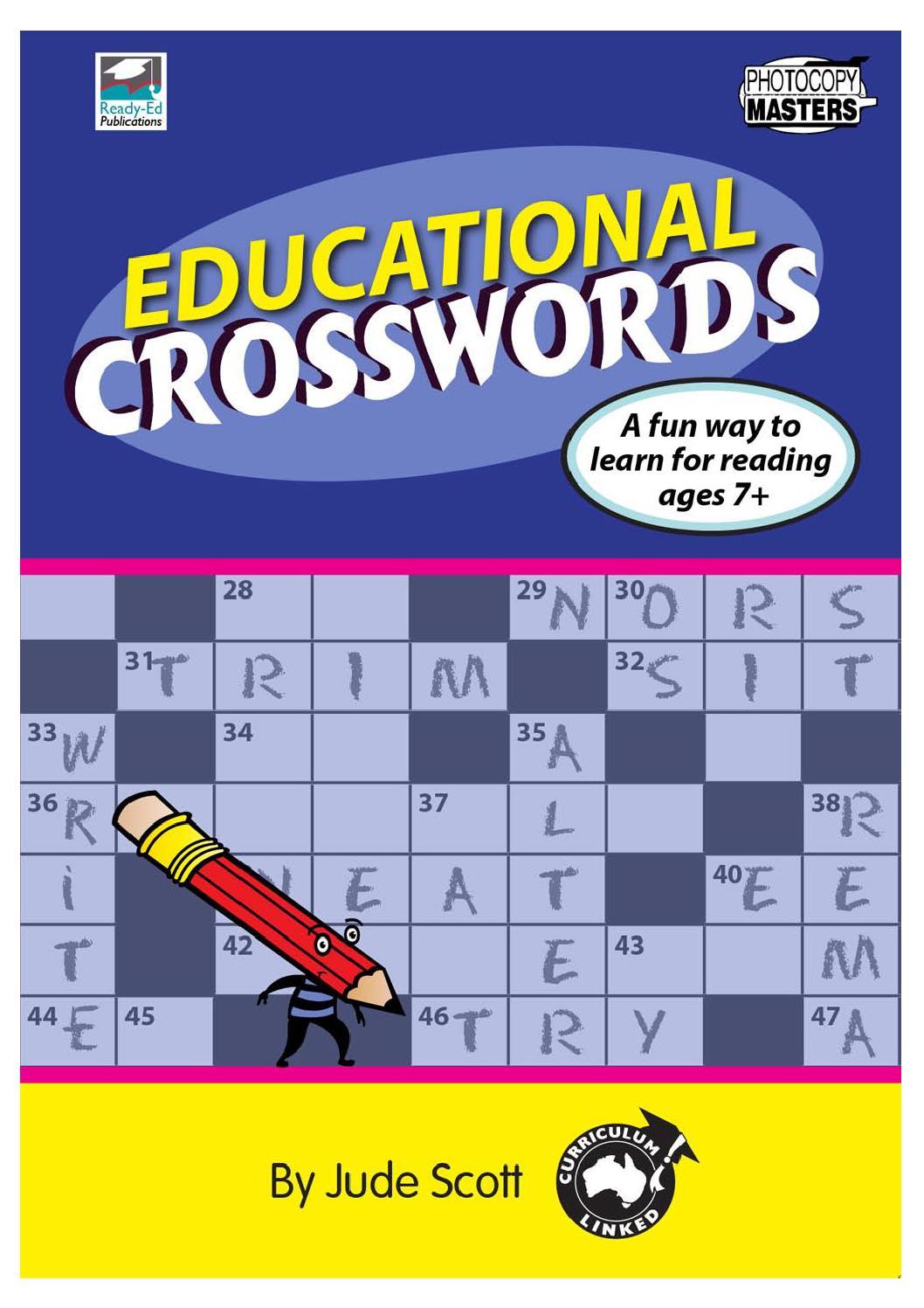 Educational Crosswords By Teacher Superstore Issuu