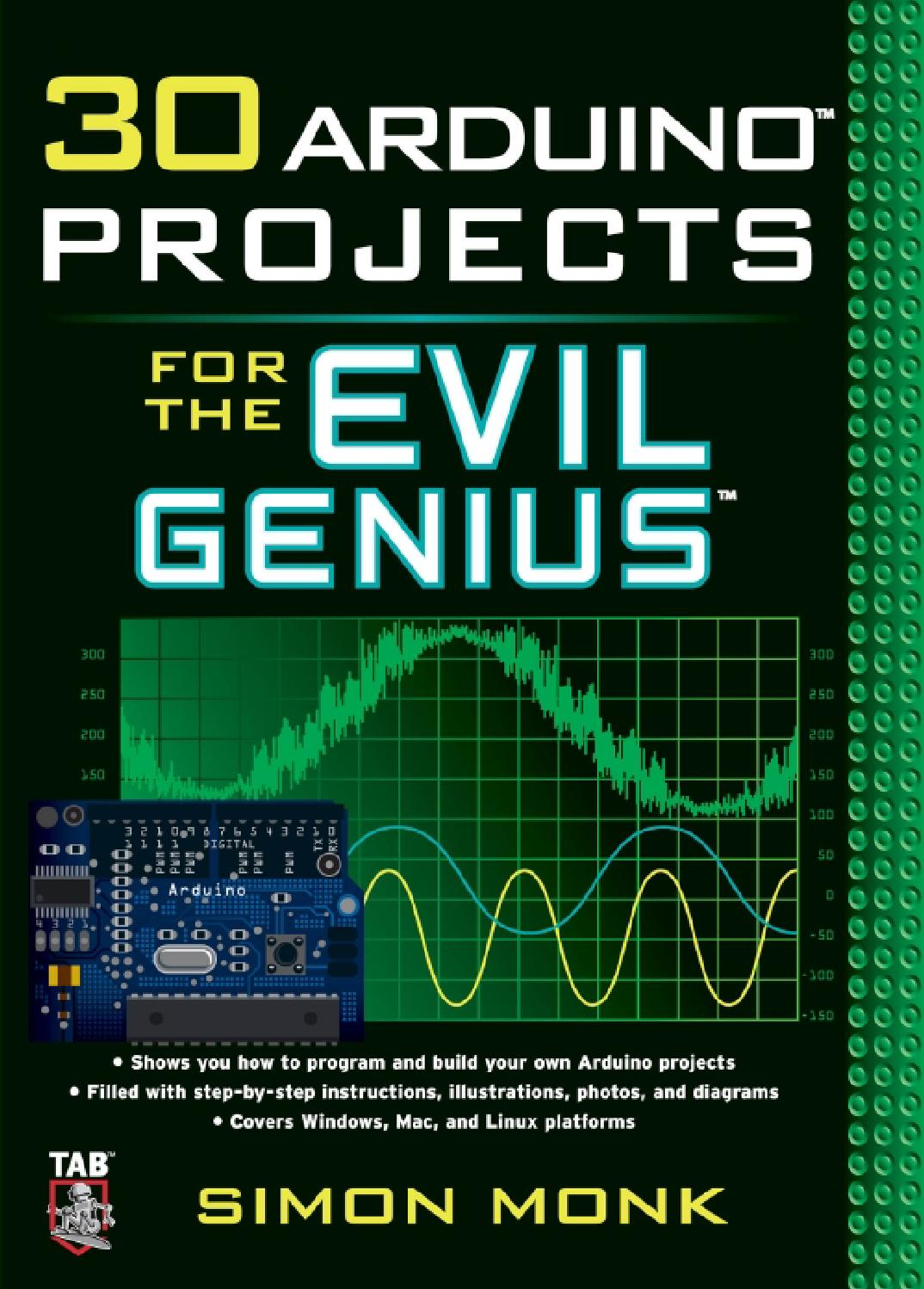 30 Arduino Projects For The Evil Genius By Memik Issuu Led From Radioshack Not A High Powered Simple 20ma Specetc