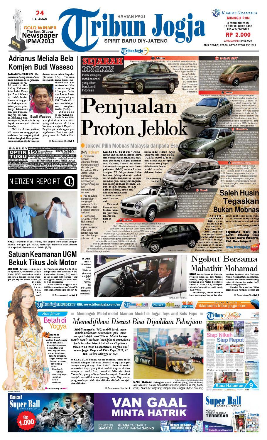 Tribunjogja 08 02 2015 By Tribun Jogja Issuu Produk Ukm Bumn Sambal Bawang Goreng Maklin