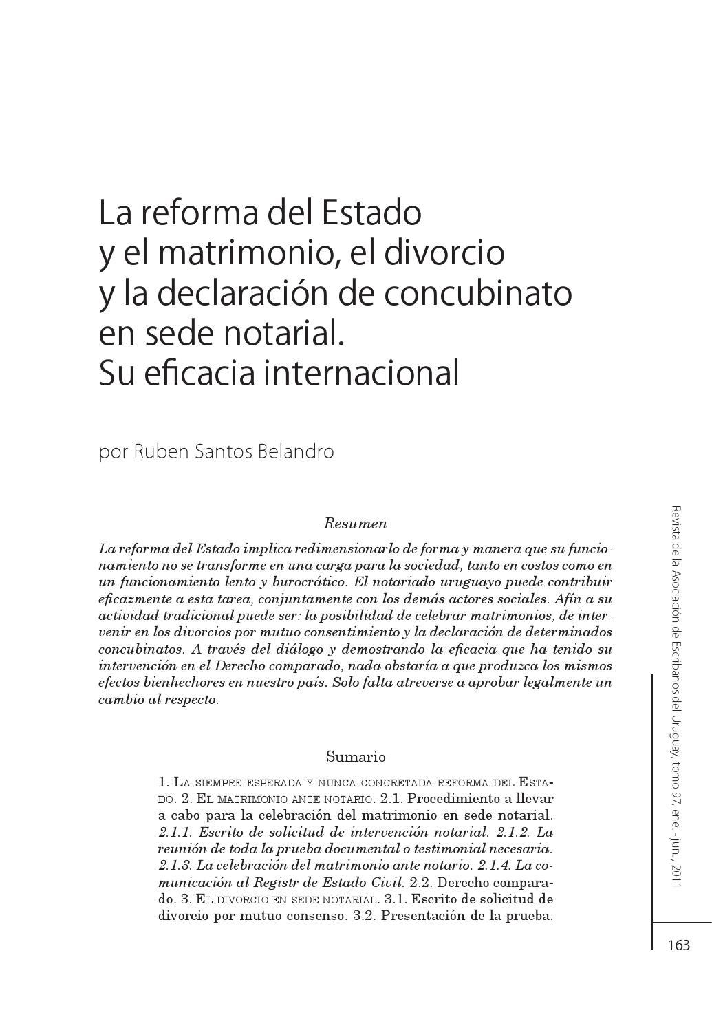 Divorcio Matrimonio Catolico Ante Notario : Matrimonio divorcio y declaración de concubinato by