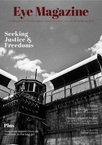 Eye Magazine Issue 6 Winterspring 2015 By Iafor Issuu