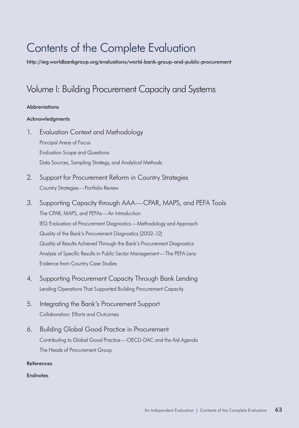 The World Bank Group and Public Procurement by World Bank