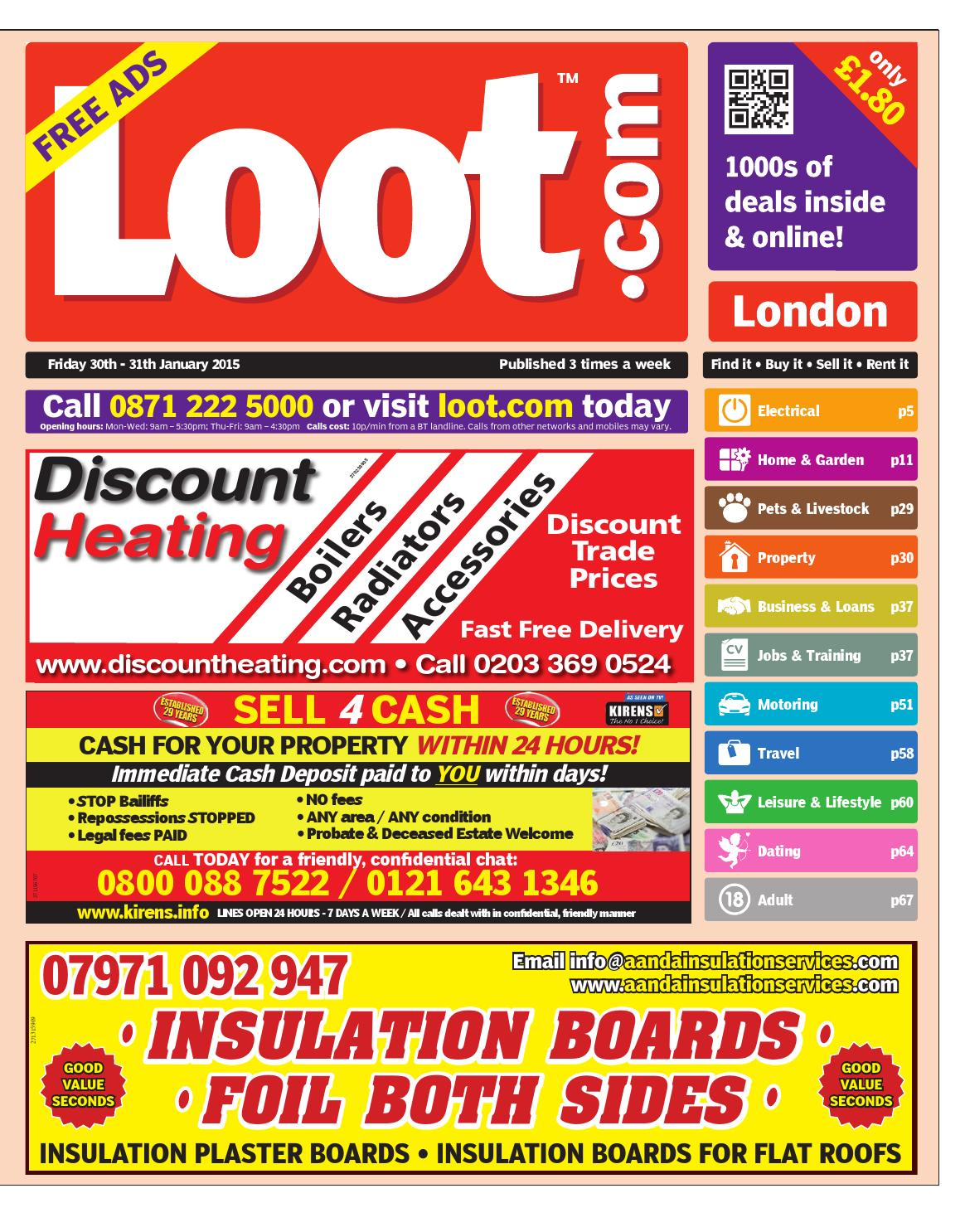 Loot London, January 30th 2015 by Loot - issuu