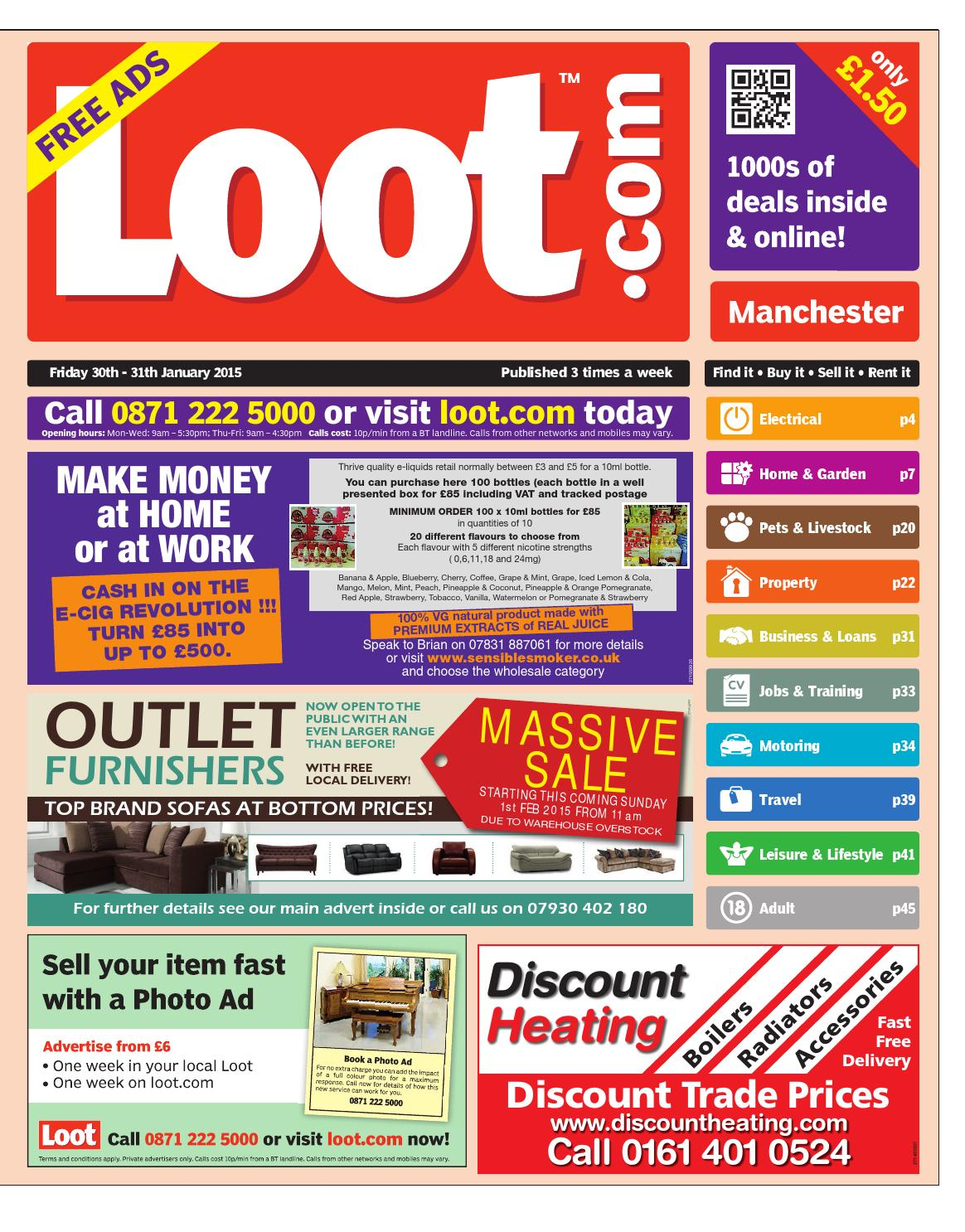 Loot Manchester, January 30th 2015 by Loot issuu