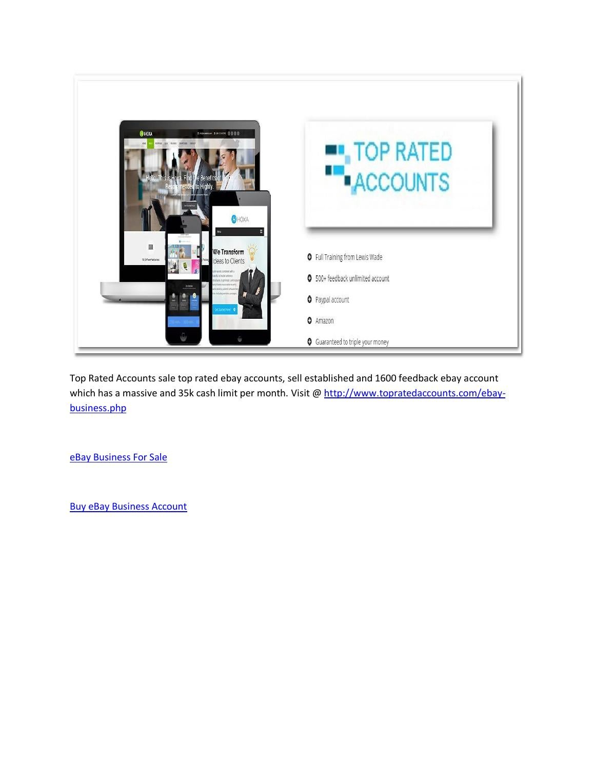 Ebay Business For Sale By Thenewss Issuu