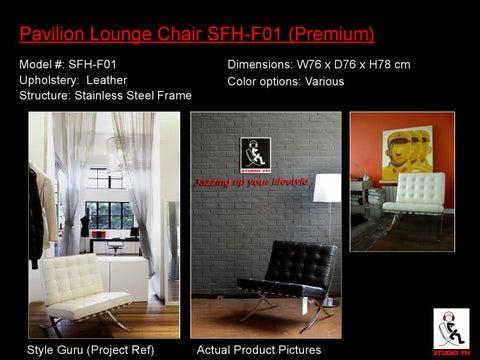 5x Lounge Chair : Sfh catalogue feb modern classic lounge chairs by studio fh
