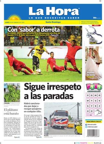 best sneakers 4b64e bcff4 Santo Domingo 9 febrero 2015 by Diario La Hora Ecuador - issuu