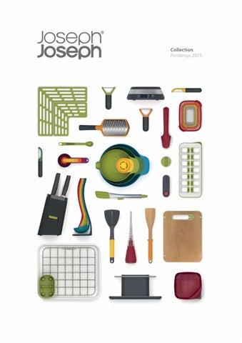Joseph Joseph 3-in-1 Design Rotary Peeler Green