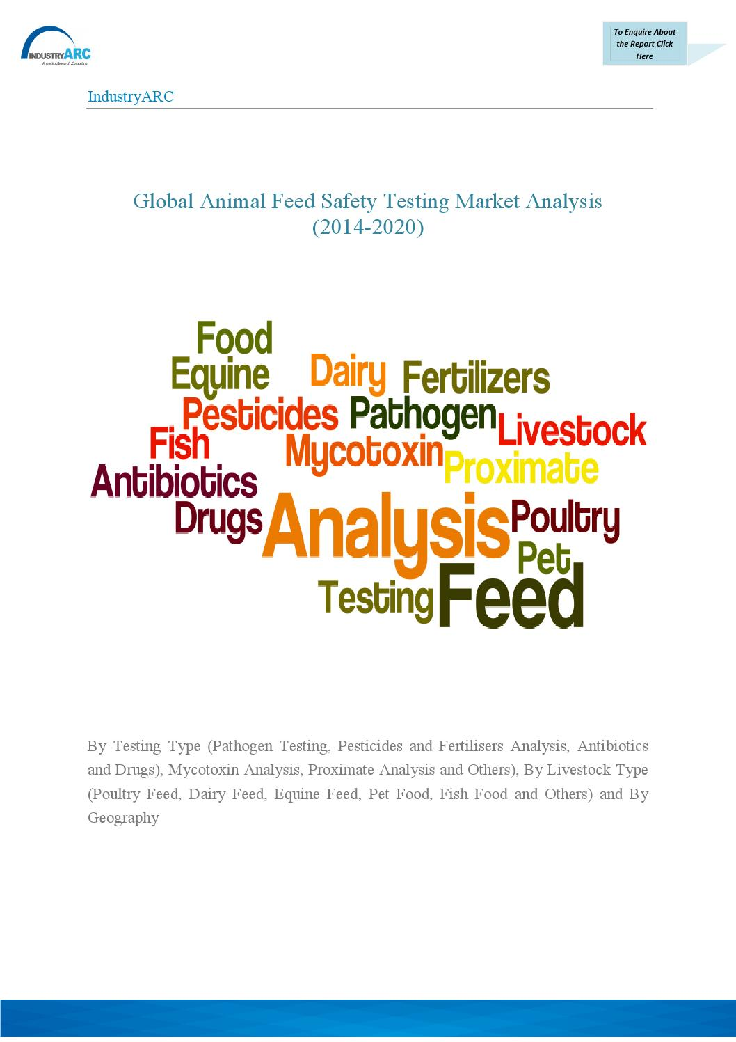 Proximate Analysis Of Poultry Feed Ingredients