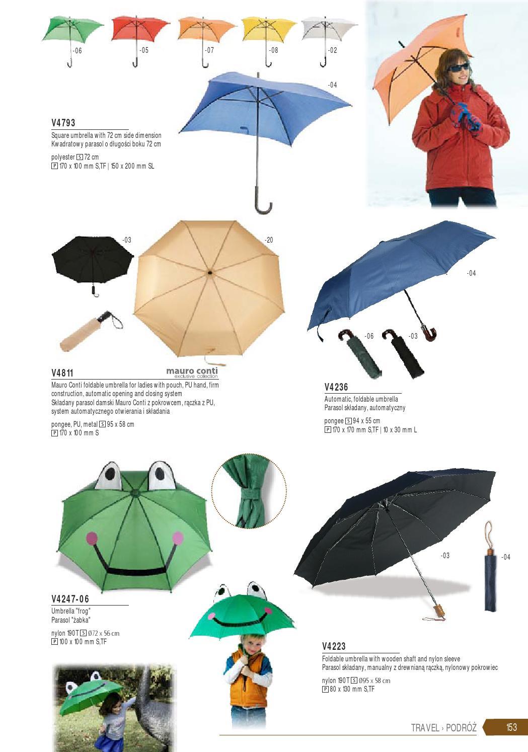 parasol o dlugosci 80 cm