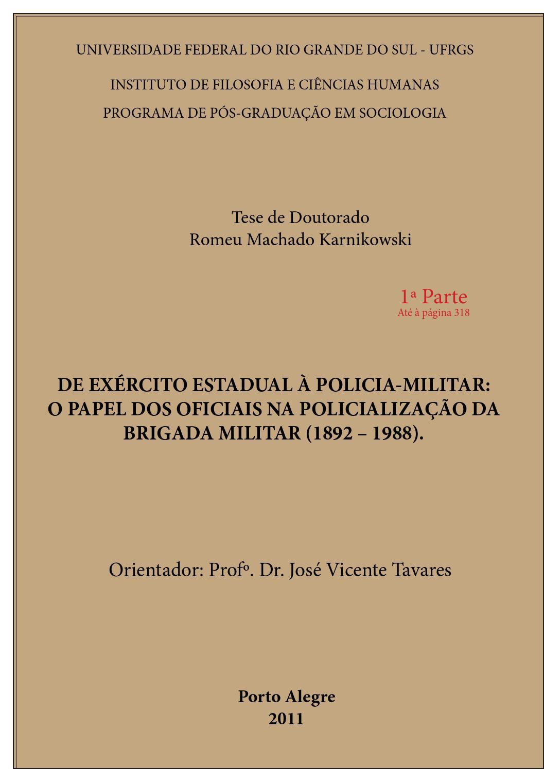 82a7d8b2e3 Prof Romeu Machado - Tese de Doutorado Parte 1 by Estante virtual  brigadiana de livros, opúsculos e jornais - issuu