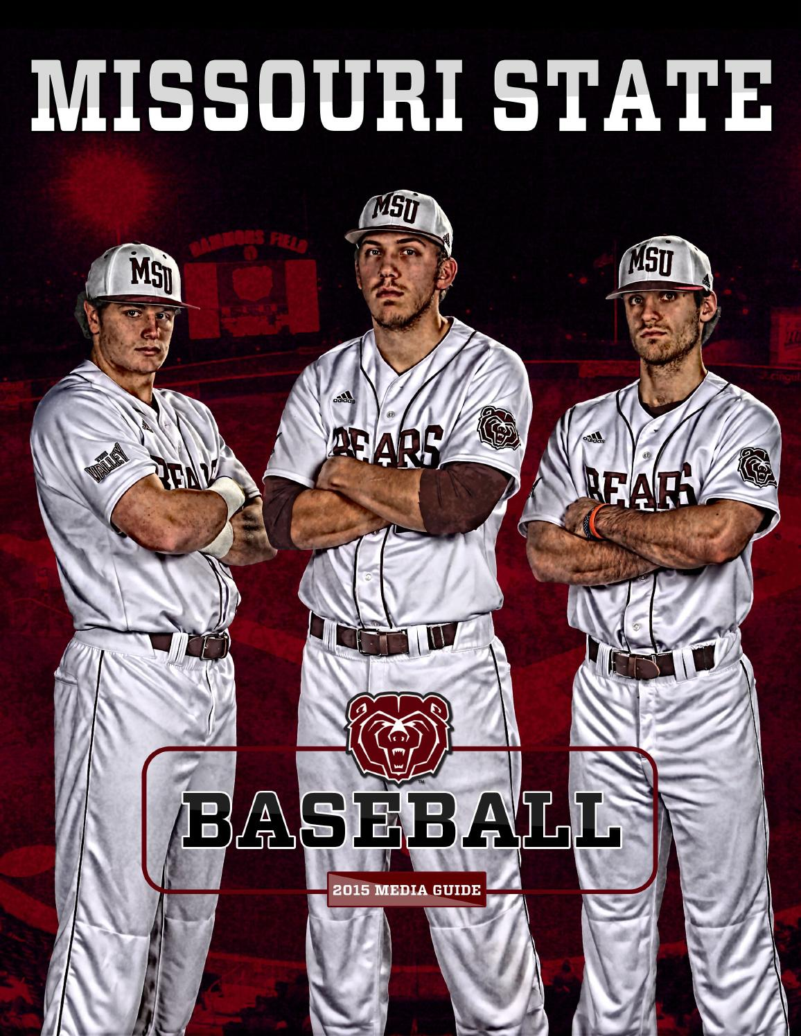 2015 Missouri State Baseball Guide By Missouri State Bears Issuu
