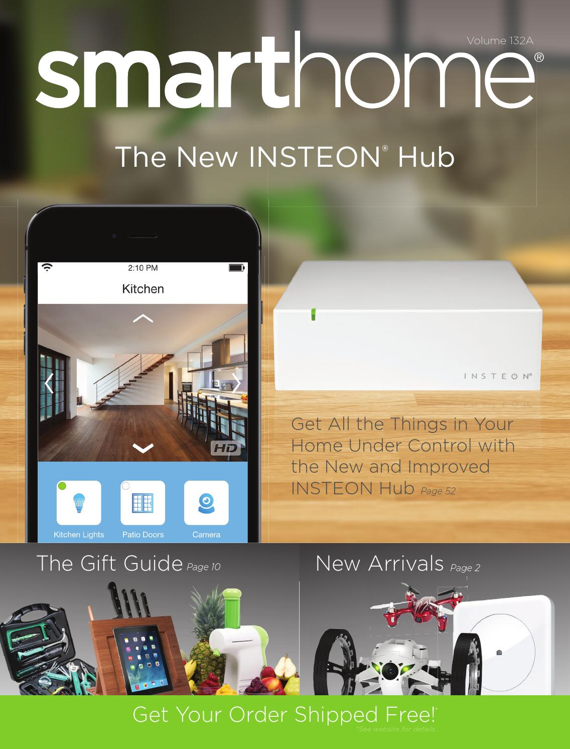 Smarthome Catalog Vol 132 By Issuu 120v Heat Tape Wiring Furthermore Toy Train Layout Further